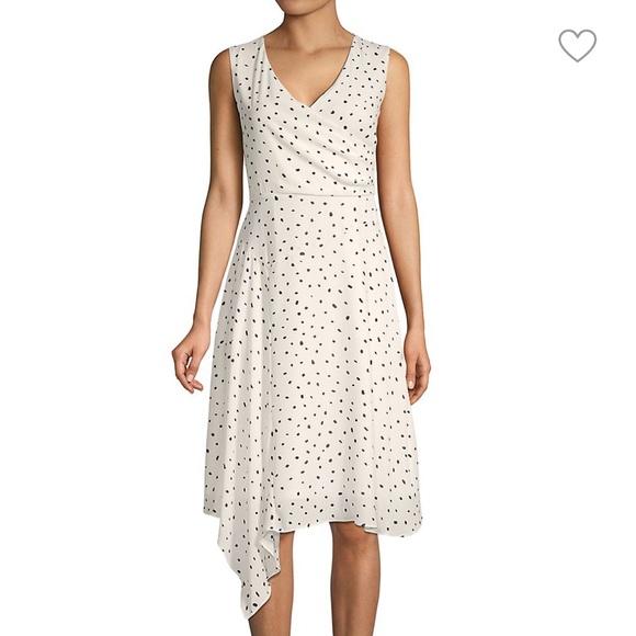 Donna Karan Polka Dot Dress